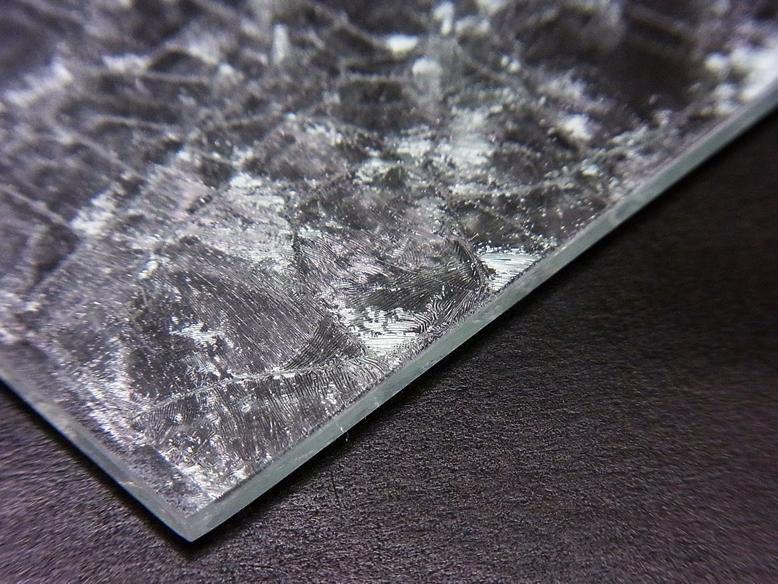 熱硬化型クリスタラスター(結晶模様)